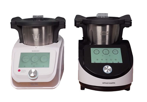 Food Processors The Digicook Intermarche And Monsieur Cuisine